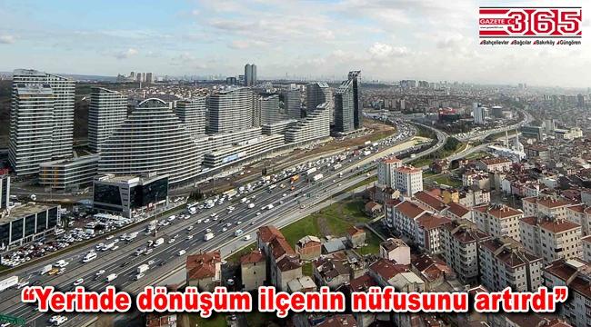 Bağcılar ilçesi İstanbul'un en büyük 3'üncü ilçesi oldu