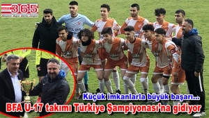 Bahçelievler Futbol Atletik Spor Kulübü U-17 takımı şampiyon oldu