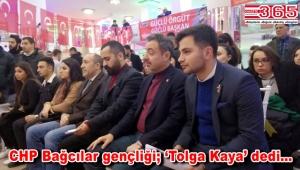 CHP Bağcılar Gençlik Kolu Başkanı Tolga Kaya oldu