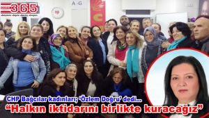 CHP Bağcılar İlçe Kadın Kolu Başkanlığı'na Özlem Doğru seçildi