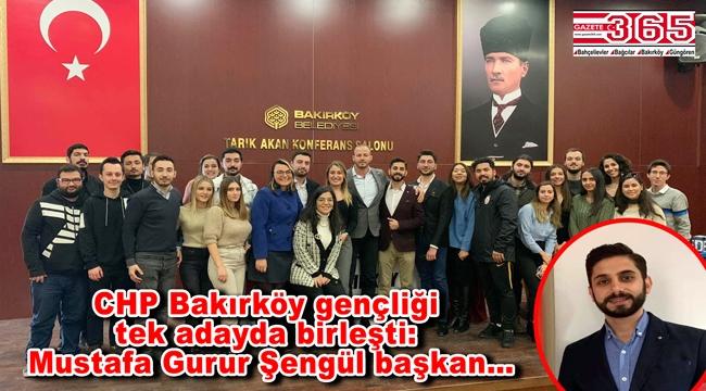 CHP Bakırköy Gençlik Kolu Başkanı Mustafa Gurur Şengül oldu