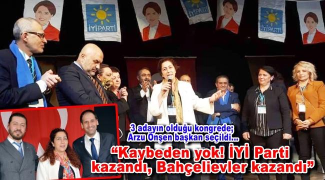 İYİ Parti Bahçelievler İlçe Başkanlığı görevine Arzu Önşen seçildi