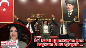 İYİ Parti Bakırköy İlçe Başkanlığı görevine Ülkü Ayaydın seçildi