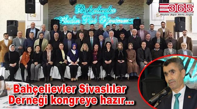 Bahçelievler Sivaslılar Derneği, kongre öncesi istişare toplantısı yaptı