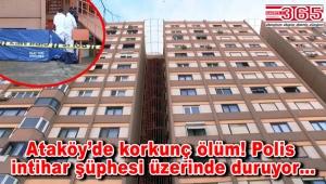 Bakırköy'de 8'inci kattan düşen kişi hayatını kaybetti