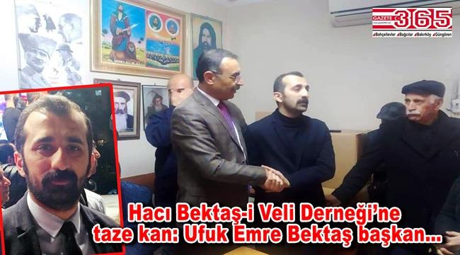 Hacı Bektaş-i Veli Derneği'nin yeni Başkanı Ufuk Emre Bektaş oldu