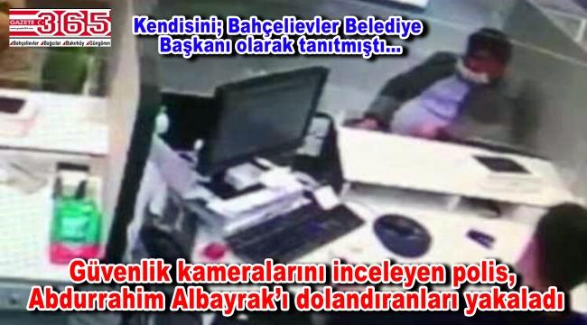 Abdurrahim Albayrak'ı dolandıran 2 kişi yakalandı