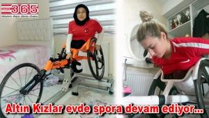 Altın Kız Hamide, Tokyo Olimpiyatları'na evde hazırlanıyor