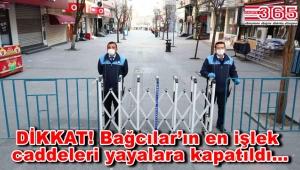 Bağcılarlılar DİKKAT! Bağcılar ve Güneşli Meydanı ile çok sayıda cadde kapatıldı!