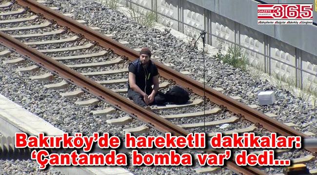 Bakırköy'de bir kişi;