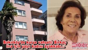 Bakırköy'de dehşet! Evine siparişini getiren kurye tarafından öldürüldü!