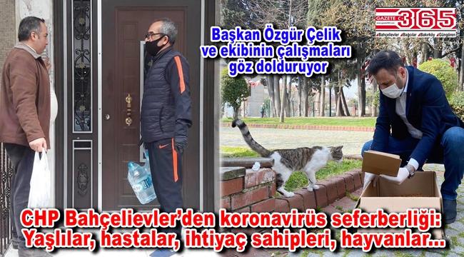 CHP Bahçelievler'den Covid-19 mesajı: