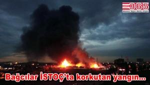 İSTOÇ'taki Geri Dönüşüm Tesisi'ndeki büyük yangın kontrol altına alındı