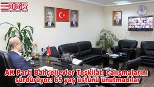 AK Parti Bahçelievler'den büyüklere; 'Vefa' telefonu: İhtiyaçlarını tek tek not aldılar…