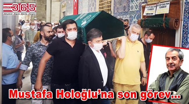 Duayen gazeteci Mustafa Holoğlu son yolculuğa uğurlandı