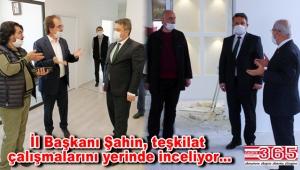 Gelecek Partisi İl Başkanı Şahin, Bahçelievler ve Bağcılar teşkilatlarını ziyaret etti