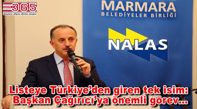 Başkan Lokman Çağırıcı, NALAS'a İkinci Başkan Yardımcısı oldu