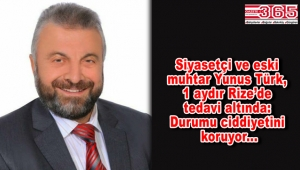Yunus Türk'ten üzen haber: Yaşam mücadelesini sürdürüyor