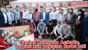AK Parti Bahçelievler Teşkilatı, kan bağışı kampanyası başlattı