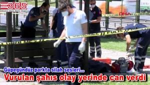 Bağcılar'da parkta korkunç cinayet!