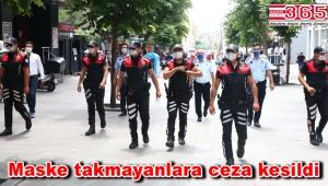 Bağcılar'da polis ve zabıta maske denetimi yaptı