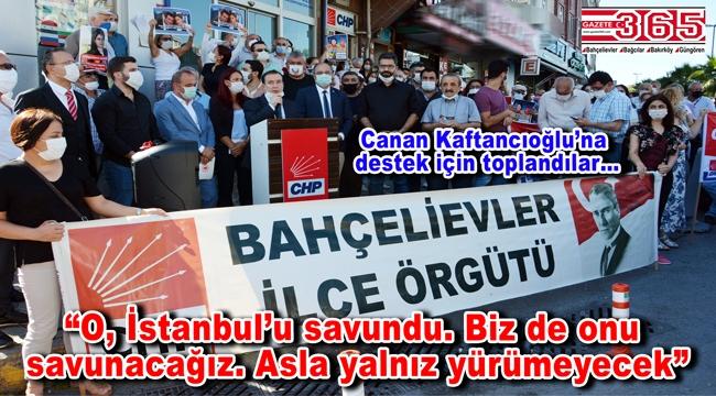 CHP Bahçelievler'den, Kaftancıoğlu'nun cezasının onanmasına tepki