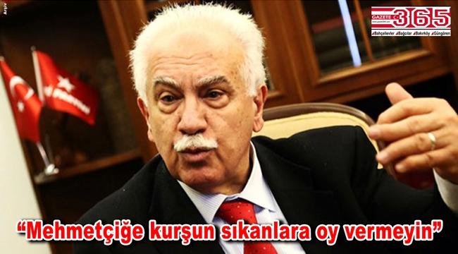 Doğu Perinçek HDP'ye oy veren vatandaşlara seslendi...