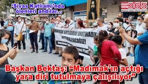 Bahçelievler Emek ve Demokrasi Platformu, 'Sivas Katliamı'nda ölenleri andı