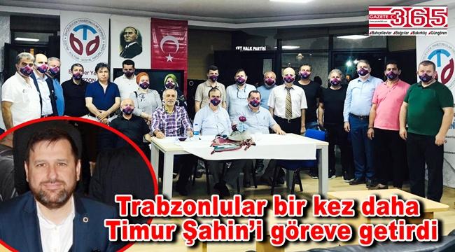 Bahçelievler Trabzonlular Derneği Başkanlığı'na tekrar Timur Şahin seçildi