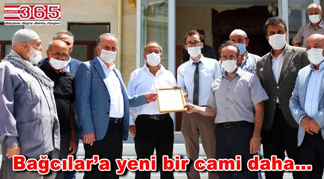 Hasan Hüseyin Kozan Camii yoğun katılımla açıldı