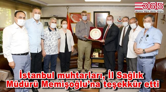 TÜMFED'den İl Sağlık Müdürü Kemal Memişoğlu'na teşekkür ziyareti…