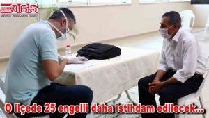 Bağcılar'da 25 engelli istihdam edilecek