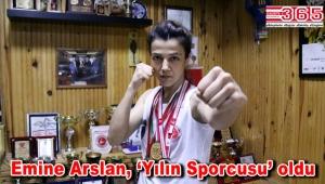 Bağcılarlı Emine Arslan, 'Yılın Sporcusu' ödülüne layık görüldü
