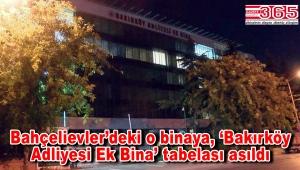 Kapatılan Zaman Gazetesi'nin binası, Bakırköy Adliyesi'ne ek hizmet binası oluyor