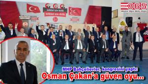 MHP Bahçelievler İlçe Başkanlığı'na Osman Çakan seçildi