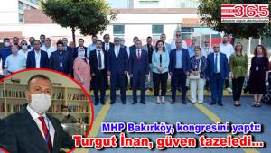 MHP Bakırköy İlçe Başkanlığı'na Turgut İnan seçildi