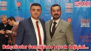 AK Parti Bahçelievler Gençliği'nin yeni Başkanı Yakup Bayrak oldu