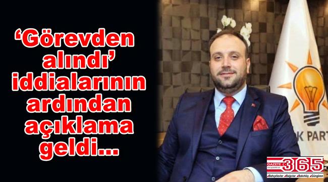 AK Parti Güngören İlçe Başkanı Baş:
