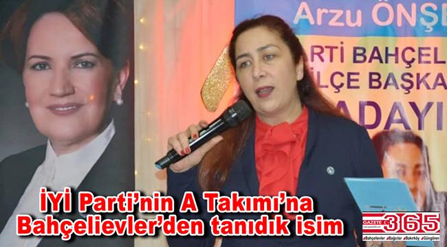 Arzu Önşen, Genel Başkan Yardımcısı oldu! İşte İYİ Parti Başkanlık Divanı…