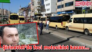 Bahçelievler'de motosiklet kazası: Yaya hayatını kaybetti