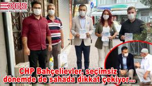 CHP Bahçelievler, sokak sokak 'İkinci Yüzyıla Çağrı Beyannamesi'ni anlatıyor
