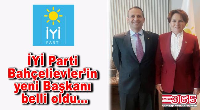 İYİ Parti Bahçelievler'in yeni Başkanı Oğuz Albay oldu