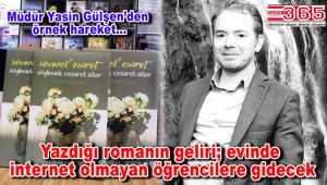 Yasin Gülşen'in 'Sevmek Esaret Söylemek Cesaret İster' adlı romanı çıktı