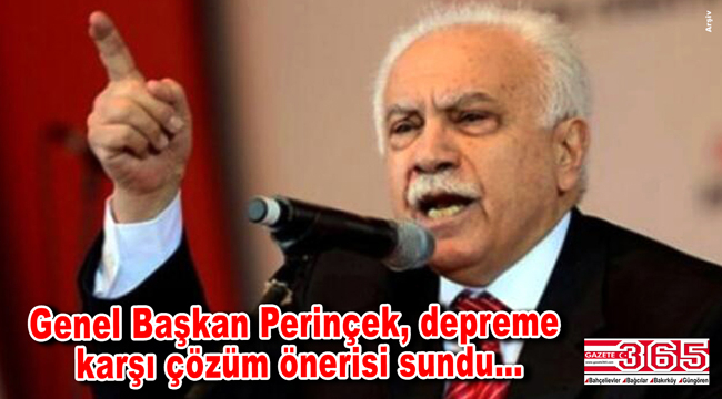 Vatan Parti Genel Başkanı Perinçek'ten çözüm önerisi: 'Kamuculuk ve planlı şehirleşme'