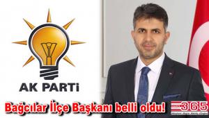 AK Parti Bağcılar İlçe Başkanlığı'nın kongredeki adayı; Rüstem Tüysüz…