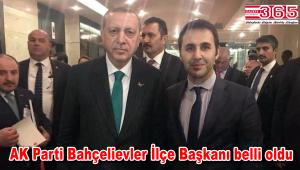 AK Parti Bahçelievler İlçe Başkanlığı'nın kongredeki adayı; Fatih Tuna…