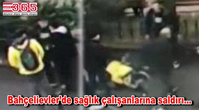 Bahçelievler'de sağlık çalışanlarını darbeden iki kişi yakalandı