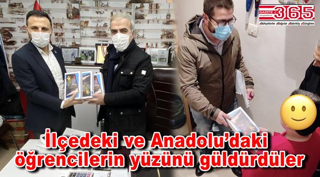 CHP Bahçelievler Belediye Meclis Grubu'ndan eğitime erişemeyen öğrencilere tablet desteği…