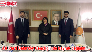 AK Parti Bakırköy İlçe Gençlik Kolu Başkanlığı'na; Ömer Faruk Karakurt getirildi