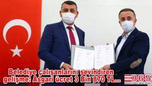 Bağcılar Belediyesi'nde asgari ücret 3 bin 870 TL oldu